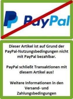 PayPal Transaktions-Ausschluss