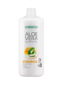 Aloe Vera Drinking Gel Traditionell mit Honig 1000 ml