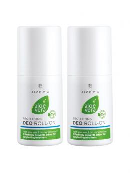 Aloe Vera Schützender Deo Roll-on 2er-Pack 100 ml