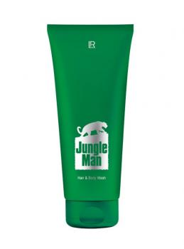 LR Jungle Man Parfümiertes Haar- und Körper-Shampoo 200 ml