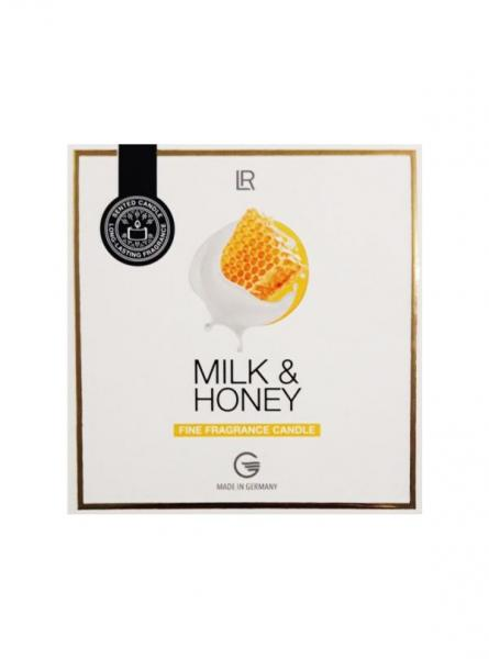 LR Milk & Honey Kerze 190g Geschenkbox
